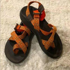Orange Chacos 7